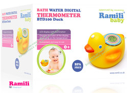Термометр для ванной Ramili BTD100 Duck NEW!